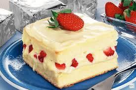 A melhor receita de bolo de morango