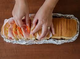 lanche rapido com pão