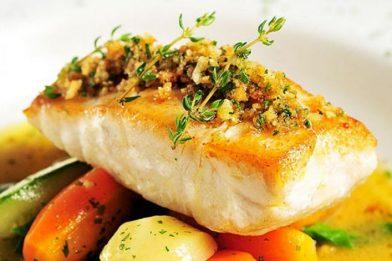 Filé de peixe delicioso