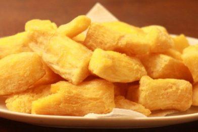 Mandioca frita sequinha