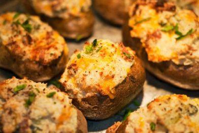 Receita de batata recheada deliciosa