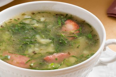 Caldo verde receita deliciosa