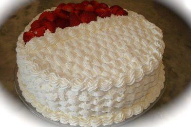 Cobertura de bolo simples e rápida