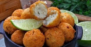 Receita de bolinhos de bacalhau deliciosos