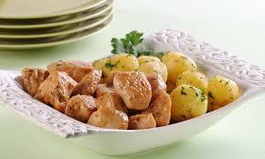 A melhor receita de frango com batatas