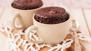 Bolo de caneca de chocolate rápido e delicioso