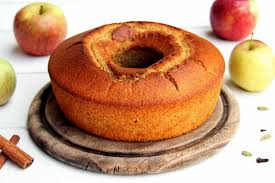Receita de bolo de maçã com canela de liquidificador