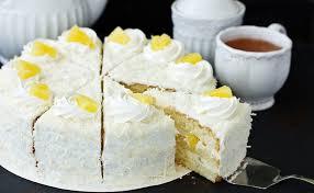 Receita de bolo de abacaxi simples