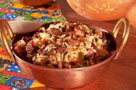 arroz de carreteiro de forno