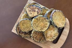 berinjela de forno crocante