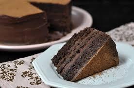 Bolo de chocolate com ganache