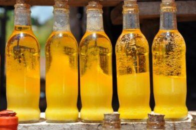Manteiga de garrafa caseira