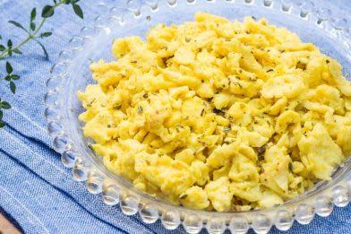 Receita deliciosa de ovo mexido