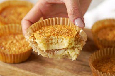 Receita de queijadinha deliciosa