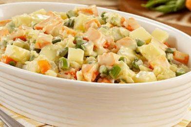 Salada de maionese deliciosa
