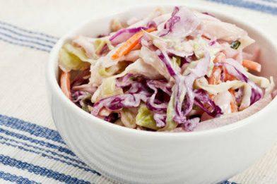 Melhor receita de salada de repolho com maionese