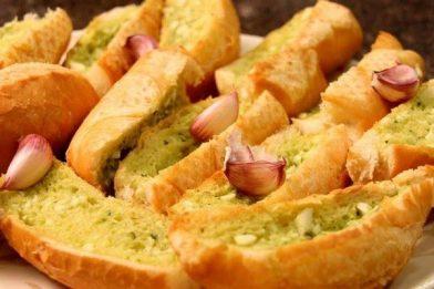 Melhor receita de pão de alho