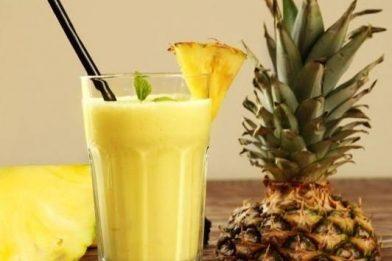 Suco de abacaxi leve