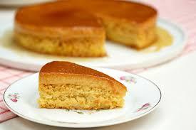 A melhor receita de bolo pudim simples