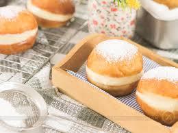 Receita de sonho de padaria delicioso