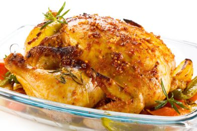 Receita deliciosa de frango no forno