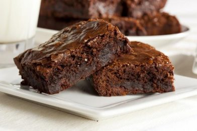 Brownie simples e suculento