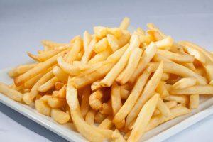 batata frita sem óleo