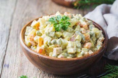 Salada de batata rápida e fácil