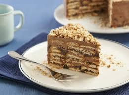 torta de palha italiana fácil