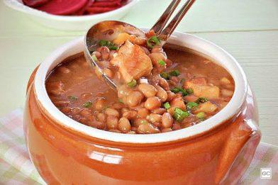 Feijão cozido simples e delicioso