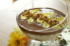 Receita deliciosa de pavê de banana simples
