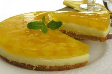 Torta de abacaxi muito gostosa