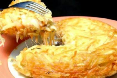 Batata rosti deliciosa e simples
