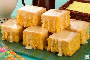 Calda para molhar bolo com leite condensado