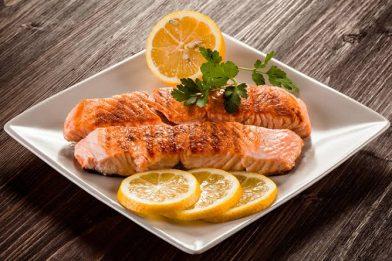 Receita deliciosa de salmão grelhado