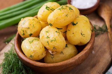 Batata em conserva deliciosa