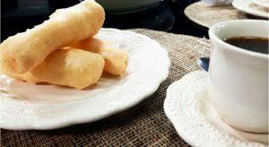Receita de bolo frito prático e simples