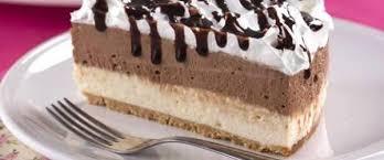 Receita deliciosa de torta de sorvete de chocolate