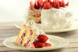 Receita de bolo incrível de morango