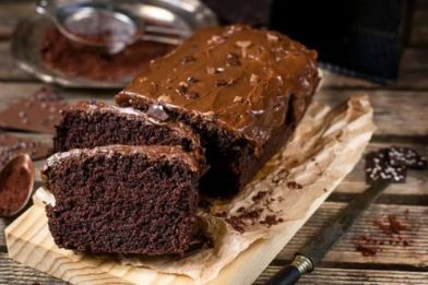 Receita de bolo de chocolate low carb