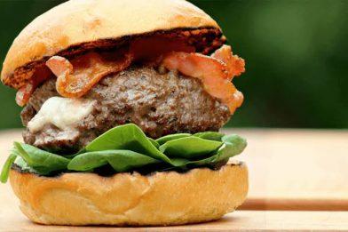 Melhor receita de hambúrguer caseiro