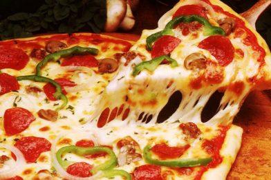 Receita de pizza super fácil