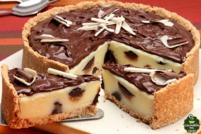 Receita de torta trufada de leite ninho prática