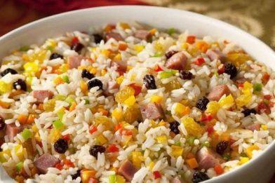 Receita de arroz a grega simples