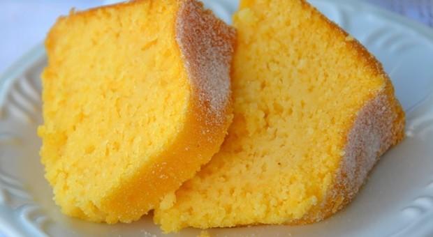 bolo de milho feito no microondas