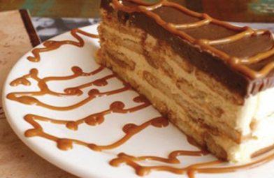 A melhor torta creme de passatempo