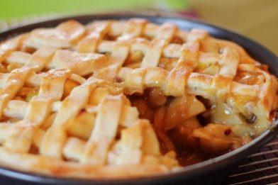Deliciosa receita de torta de maçã simples