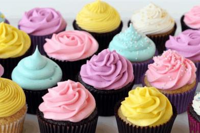 Mini cupcake muito gostoso