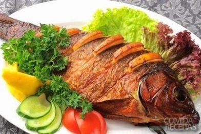 Receita deliciosa de peixe tainha