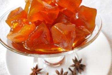 Delicioso doce de mamão cristalizado rápido